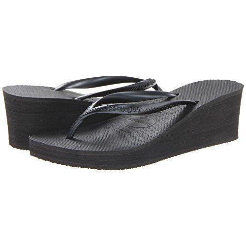 (ハワイアナス) Havaianas レディース シューズ・靴 サンダル High Fashion Flip Flops 並行輸入品  新品【取り寄せ商品のため、お届けまでに2週間前後かかります。】 表示サイズ表はすべて【参考サイズ】です。ご不明点はお問合せ下さい。 カラー:Black