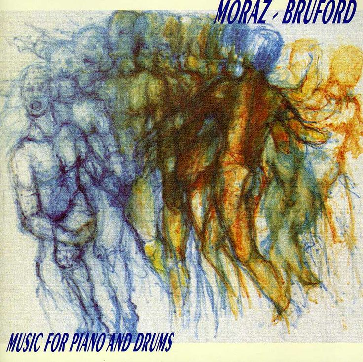 Bill Bruford - Music For Piano And Drums