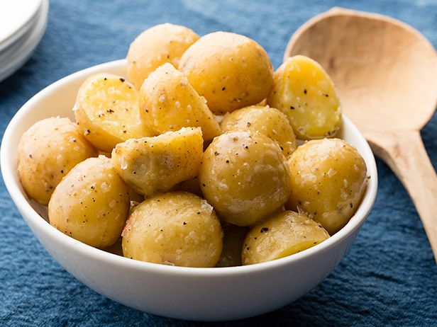 Boiled Potatoes with Butter Recipe : Food Network Kitchens : Food Network - FoodNetwork.com