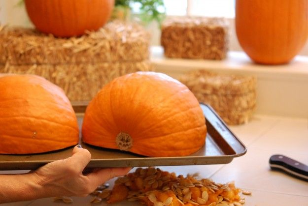 How to Bake a Real Pumpkin Pie. Excellent step by step pictures and recipe. Cooking from pumpkin recipes with REAL, fresh pumpkin makes a huge difference in flavor and taste.