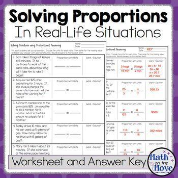 proportions word problem worksheet freebie word. Black Bedroom Furniture Sets. Home Design Ideas