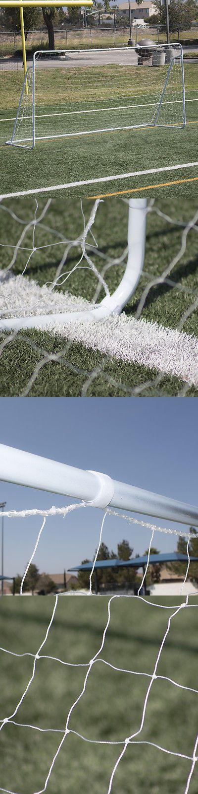 Other Soccer 2914: New 12 X 6 Ft Full Size Football Net For Soccer Goal Post Junior Sports Training BUY IT NOW ONLY: $54.97