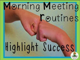 Growing Roots: 6 Ways to Get Your Morning Meeting Routine Started