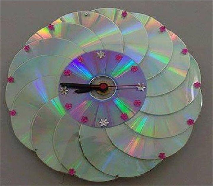 оригинальная поделка из сд дисков своими руками фото дню железнодорожника