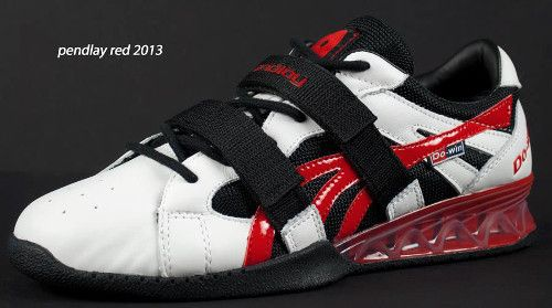 Pendlay Red Olympic Weightlifting shoe bought my hubby this for Christmas so far, so good