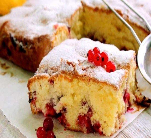 Как приготовить заливной пирог с ягодами рецепт с фото