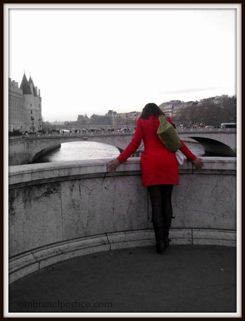 Parigi al volo! - Ombra nel portico