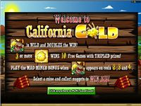 Play free slots CaliforniaGold!!!