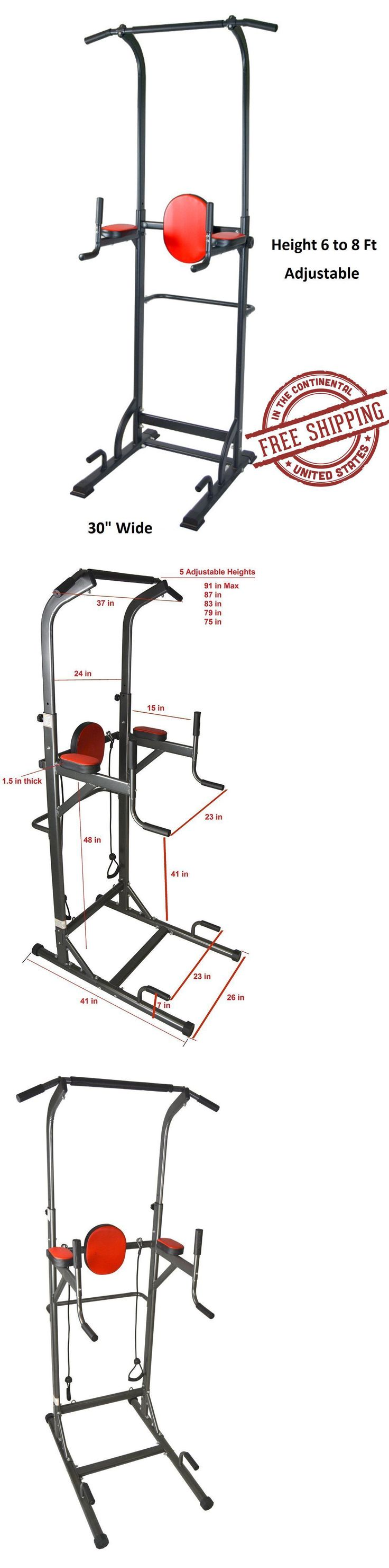 Pull Up Bars 179816: Pull Up Station Power Tower Vkr Chin-Up Bar Durable Sturdy Stand Dip Station New -> BUY IT NOW ONLY: $118.89 on eBay!