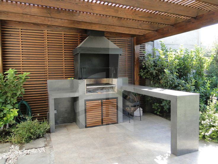 17 mejores ideas sobre asadores para jardin en pinterest for Parrillas para casas modernas