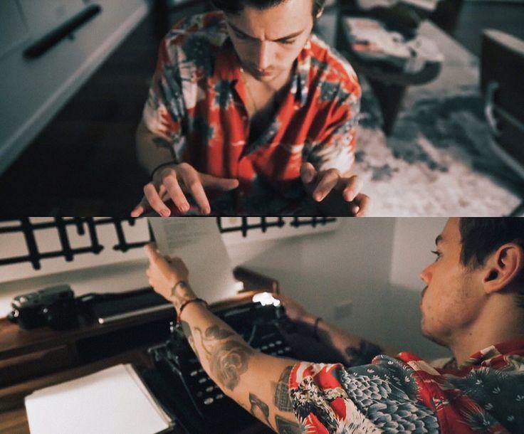 // Harry Styles // Behind the Album