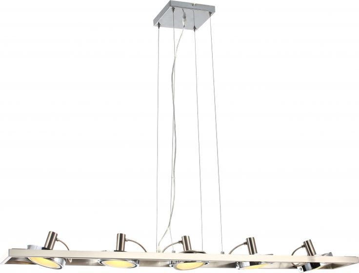 candelabru cu 5 abajururi orientabile BARONI 56946-5H marca Globo