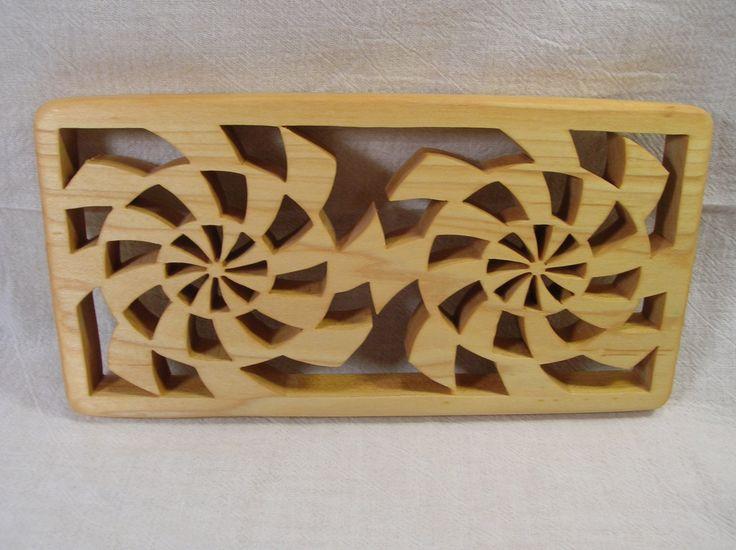 Contemporary Casserole Wooden Trivet T-2  #393 by BOARDSCROLLER on Etsy