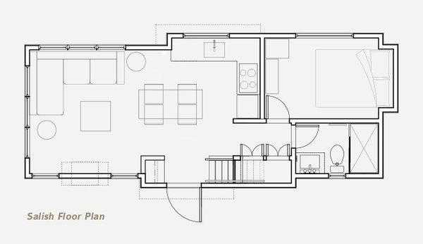 Photo 2 Of 20 In 10 Tiny Home Floor Plans That Illustrate Smart Use Tiny House Floor Plans Tiny House Layout Tiny House Interior