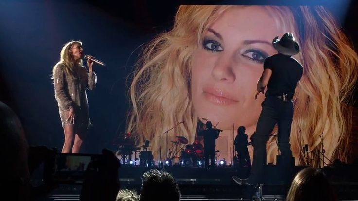 "Tim McGraw and Faith Hill ""It's Your Love"" live in Bozeman Montana"