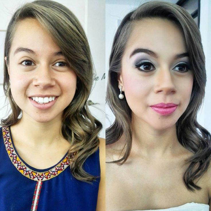 Maquillaje para novia o noche