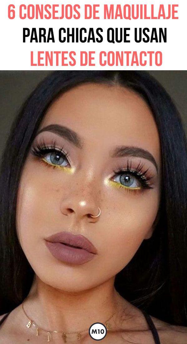 df3e1a5e9d 6 consejos de maquillaje para chicas que usan lentes de contacto Maquillarse  tiene su truco y