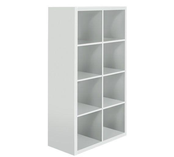 Buy Hygena Squares Plus 8 Cube Storage Unit - White at Argos.co.uk, visit Argos.co.uk to shop online for Storage units, Storage, Home and garden