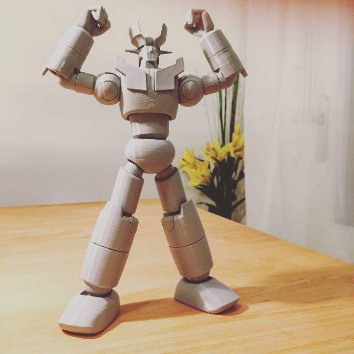 3D Printable MAZIGNER Z SUPER ROBOT  by Jurica Pranjic