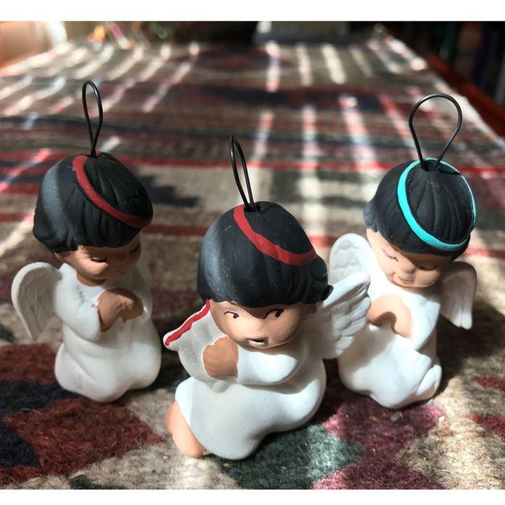 Southwestern Christmas Ornaments - Handmade angels