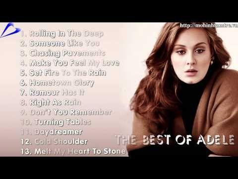 Nhung bai hat hay nhat cua Adele - The best of Adele