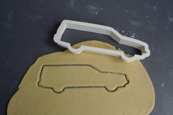 many awesome other cookie cutters in this Etsy shop // Volvo estate 1990's, cookie cutter