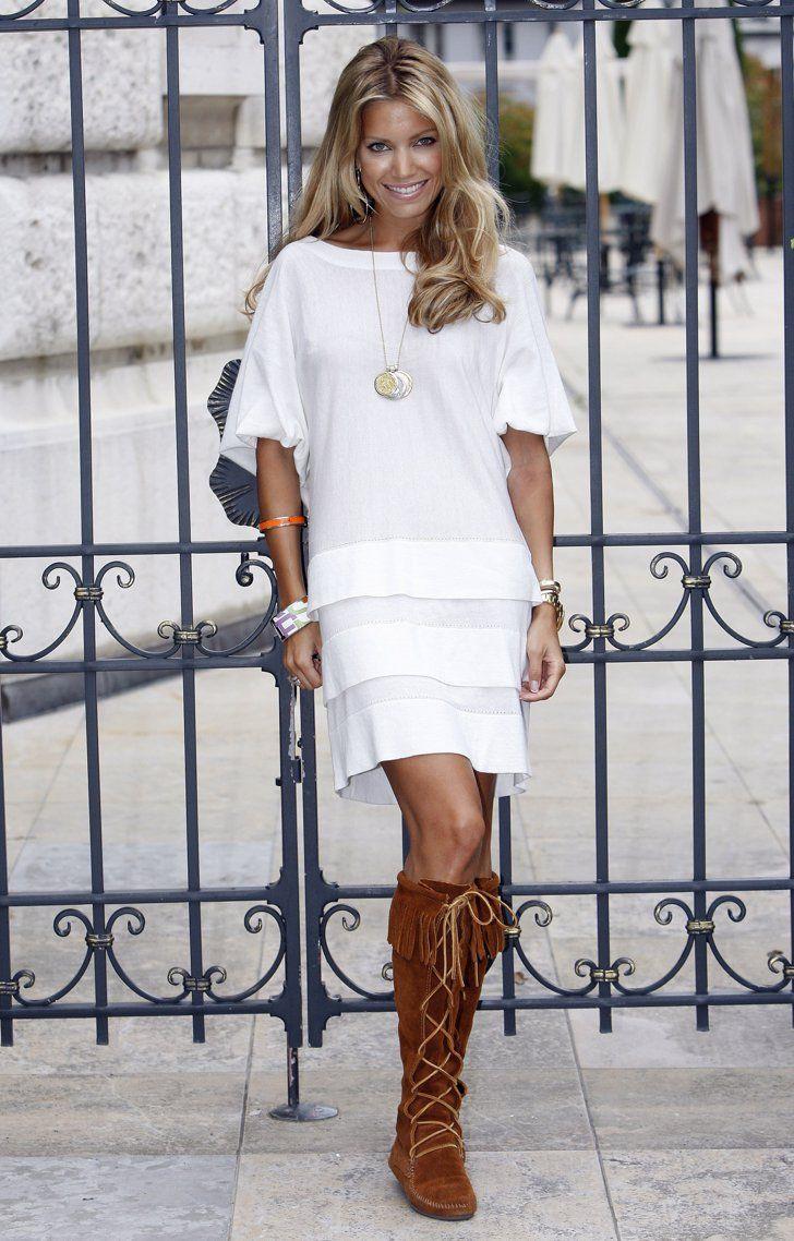 Pin for Later: 37 Gründe, warum ihr Sylvie Meis' Style lieben solltet Sylvie Meis Style - Juni 2008