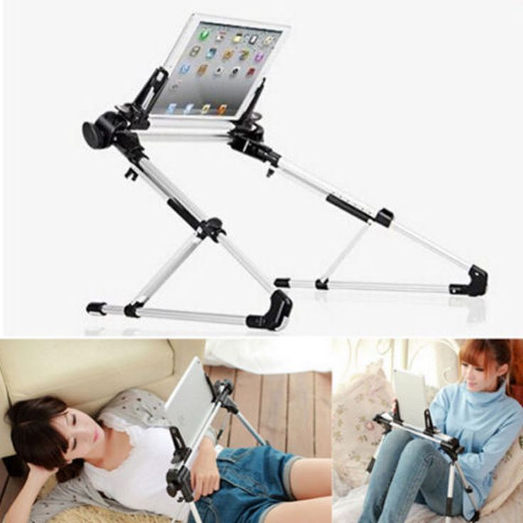 Foldable Desk Floor Stand Lazy Bed Tablet Holder Mount for iPad Air 5 2  Samsung
