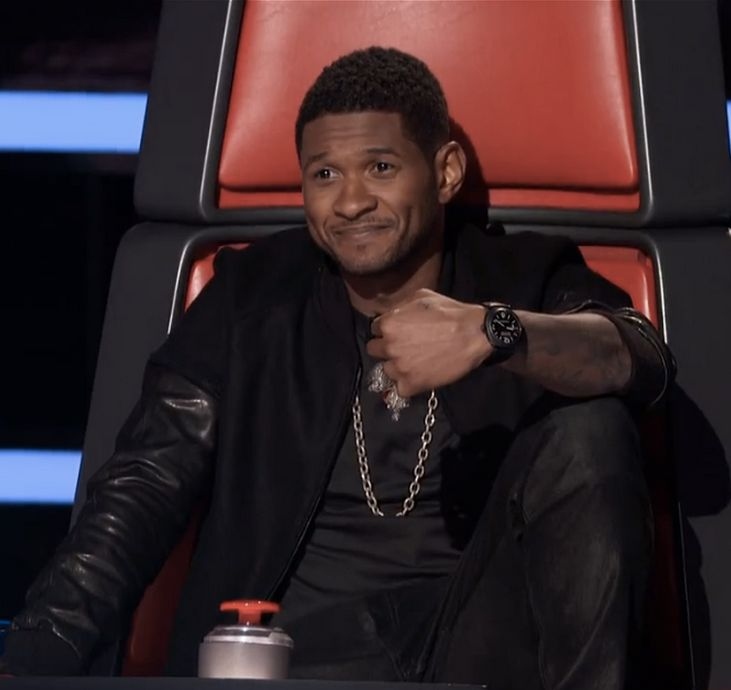 50 best images about The Voice on Pinterest   Seasons ... Usher Afro The Voice