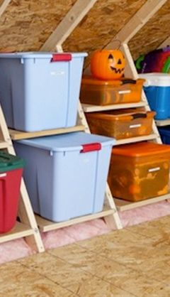 Setting An Attainable Goal Is The First Step To Organizing Your Attic! Read  More Tips