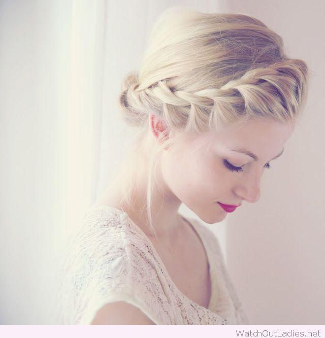 Perfect french twist braid around head