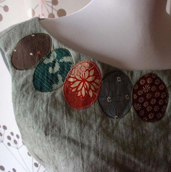 Handmade dress - details