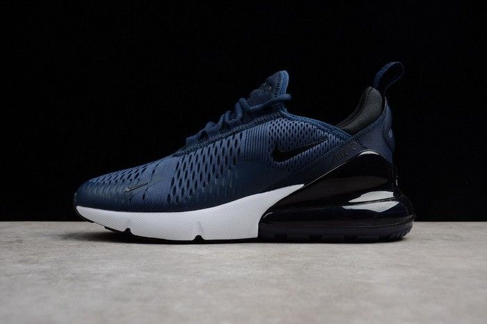 e848ca9af7a8 Mens Size Nike Air Max 270 Midnight Navy Black-White AH8050-400 ...