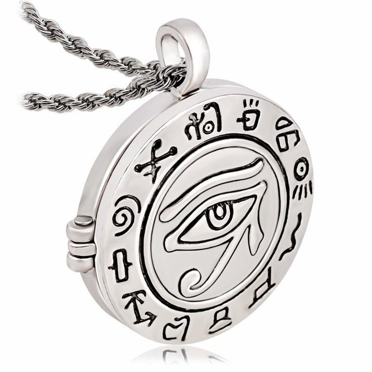 Amuleto egipcio  Medalla Colgante Ojo de Ra Horus