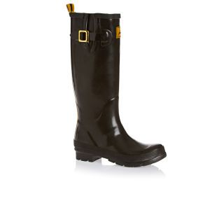 Joules Wellington Boots - Joules Glossy Welly Wellington Boots - Black