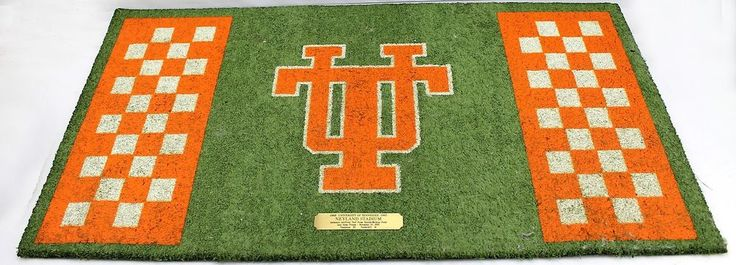 Tennessee Vols Volunteers Neyland Stadium Authentic Turf vs Vanderbilt 1993 #weboys10
