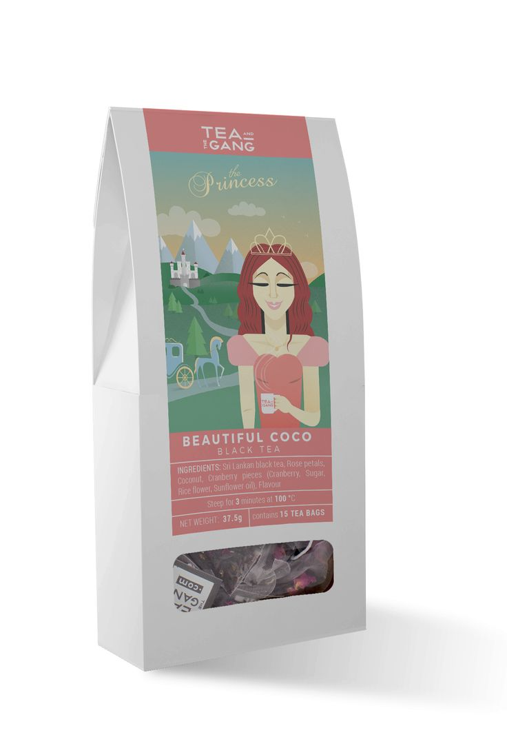 This sweet black tea blend is dancing with delightful hints of cranberry and coconut sprinkled with romantic rose petals. A delicate tea fit for a princess. Ingredients Sri Lankan black tea, Rose p…