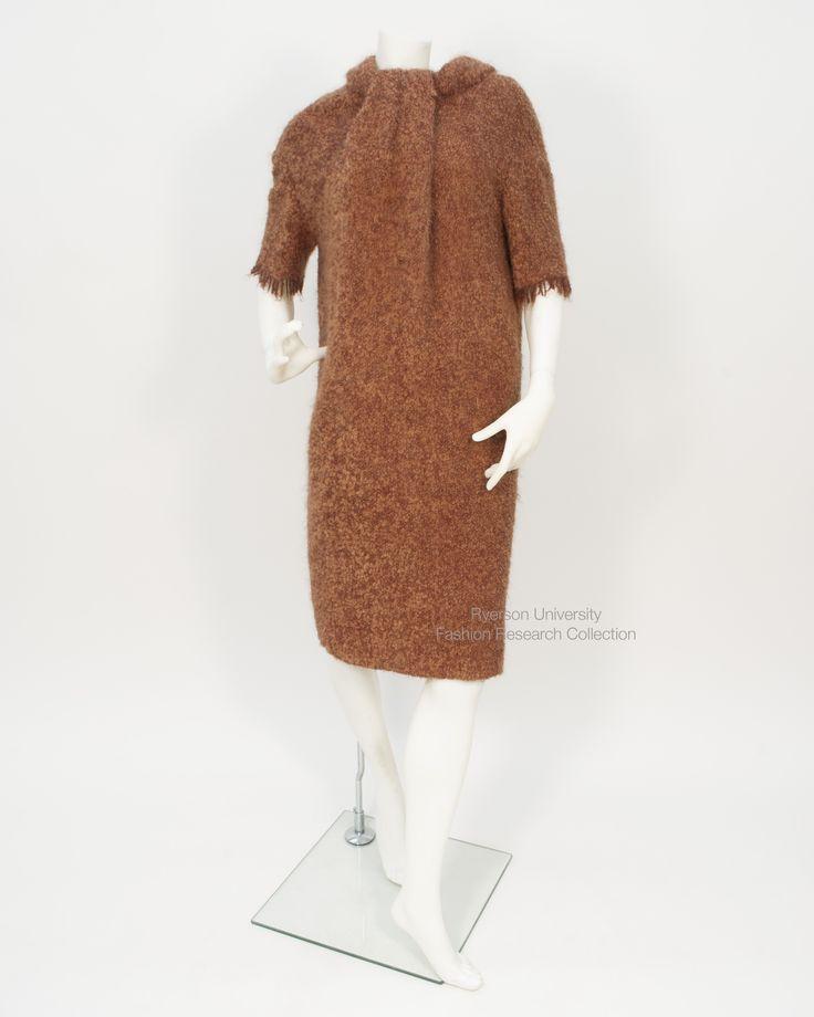Fabiani rust wool sack dress. FRC 1997.04.036