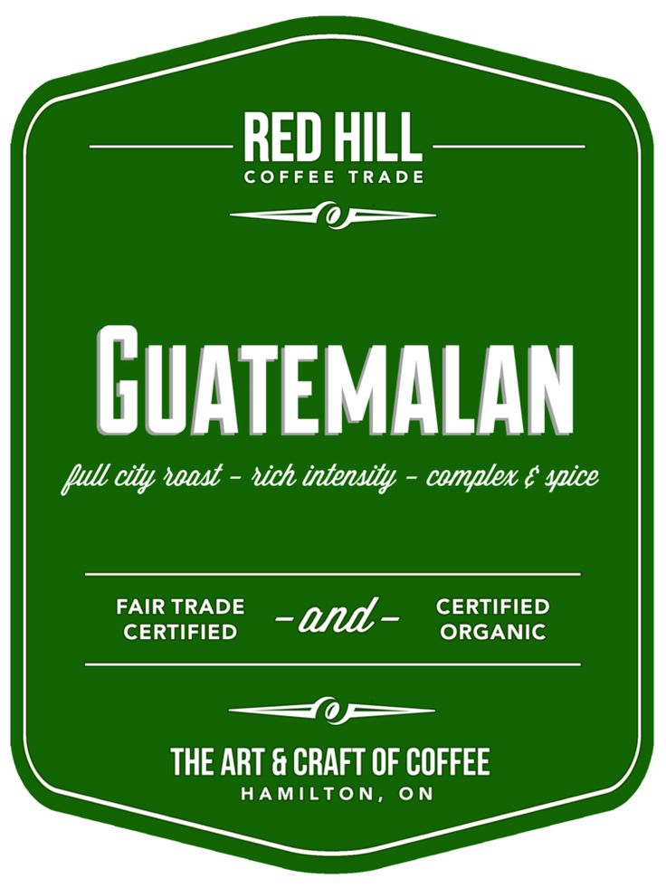 Guatemalan: A full-bodied coffee, rich in flavour, it offers a smoky, complex cup. Excellent floral tones and fruitiness, stunning acidity with hints of chocolate and cinnamon. Available to purchase online or in-store at E23 (our cafe on Concession St.) or at the Hamilton Farmer's Market.