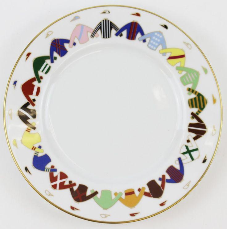 Gio Ponti for Richard Ginori 21 Jockey Silks Italian Plate