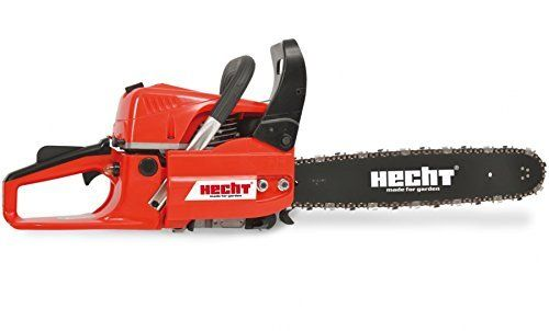 This Petrol Chainsaw form Hecht, is ideal for felling, limbing and Forestry work as well as standard log cutting for firewood! The ergonomically shaped handles and the anti-vibration system give great protection over fatigue and make the chain saw easy to use. This powerful petrol chainsaw from Hecht is high-quality and will not let you down even in difficult situations. The chainsaw has a high chain speed.