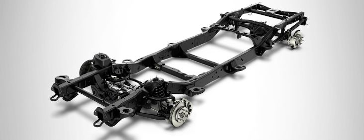 Suspension for the 2016 Sierra 1500.