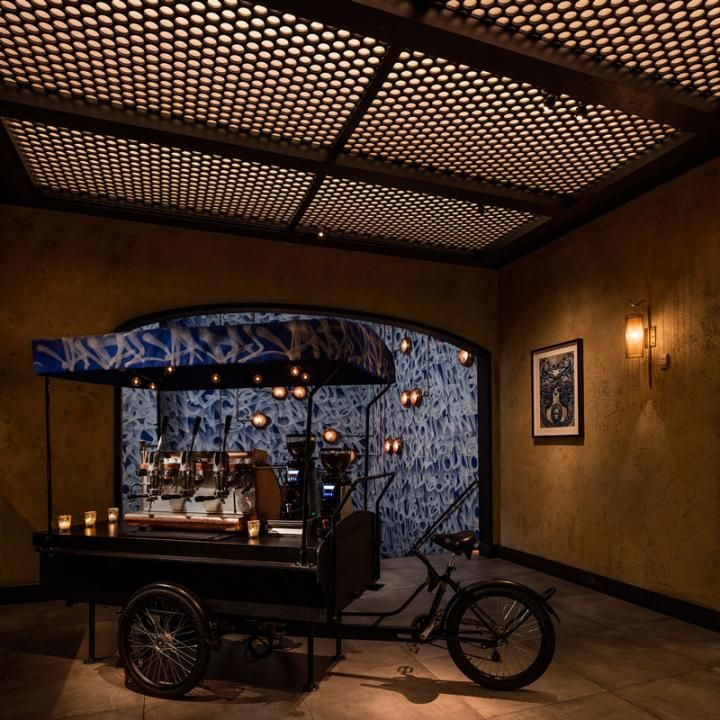 Located on Bowery, the TAO Group's Vandal restaurant celebrates the art, architecture, and food of global street culture, as well as the history of the restaurant's Lower East Side location.