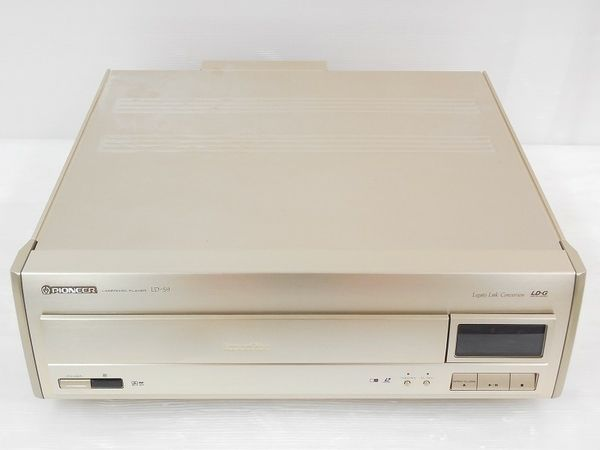 Excellent Pioneer LD-S9 High-End LaserDisc Player Import Japan + Remort Manual in Consumer Electronics | eBay