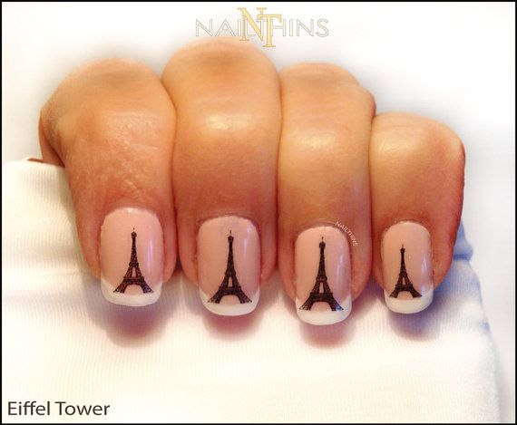Hey, I found this really awesome Etsy listing at https://www.etsy.com/listing/117524153/eiffel-tower-nail-decal-paris-nail-art