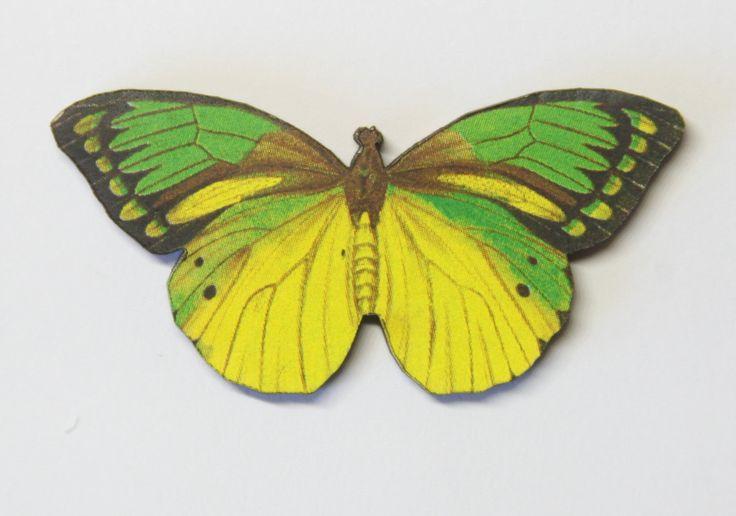 Butterfly entomologist needle minder - needleminder needle nanny pinminder needlecraft accessory by UnconventionalX on Etsy