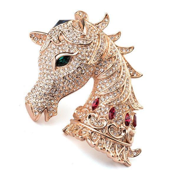 Модный дизайн лучшее качество кристалл сыпучих горный хрусталь брошь магнитного брошь с головой лошади брошь в виде кулона свадебное dresse-Ювелирные изделия из цинкового сплава-ID товара::60260715855-russian.alibaba.com