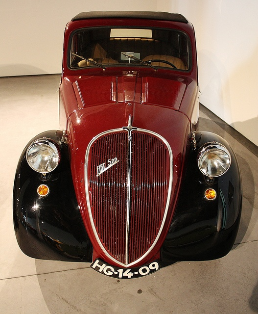 Fiat 500 Topolino - love that grille