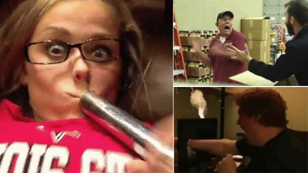 11 amazing ways to frighten anyone - but think twice before you do it (11 Gifs)