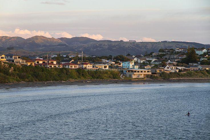 Titahi Bay beach at sunset   © Elyse Childs Photography